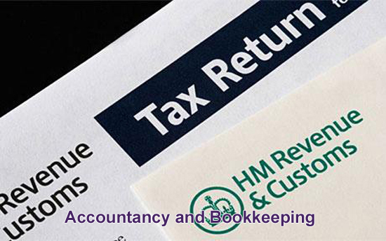 Offering accountancy and bookkeeping services