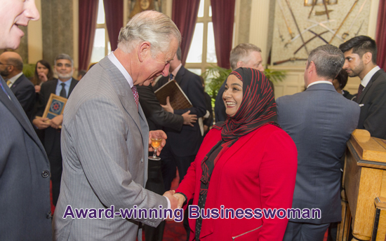 Meeting HRH The Prince of Wales